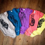 Organic Cotton Babygrows by The Kat & Monocle