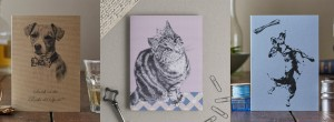 The Kat & Monocle Greeting Cards