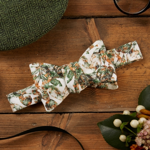Urban Jungle Handmade Bow Tie by The Kat & Monocle